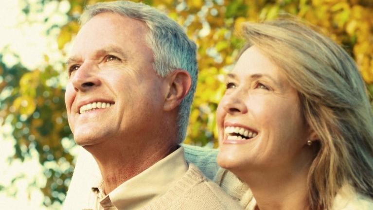 Older couple smiling l Veneers Lake Charles LA